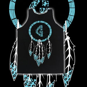 Image of Dream Catcher Black Tank Top