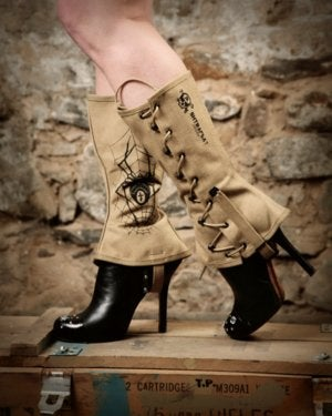 Image of SH71 [SPIDER SPATS] UP-Cycled WW2 Vintage U.S. Army Spats