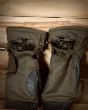 Image of SH129 [PANZERKNACKER] Vintage Military Surplus Mittens - FREE SHIPPING TO US and CANADA