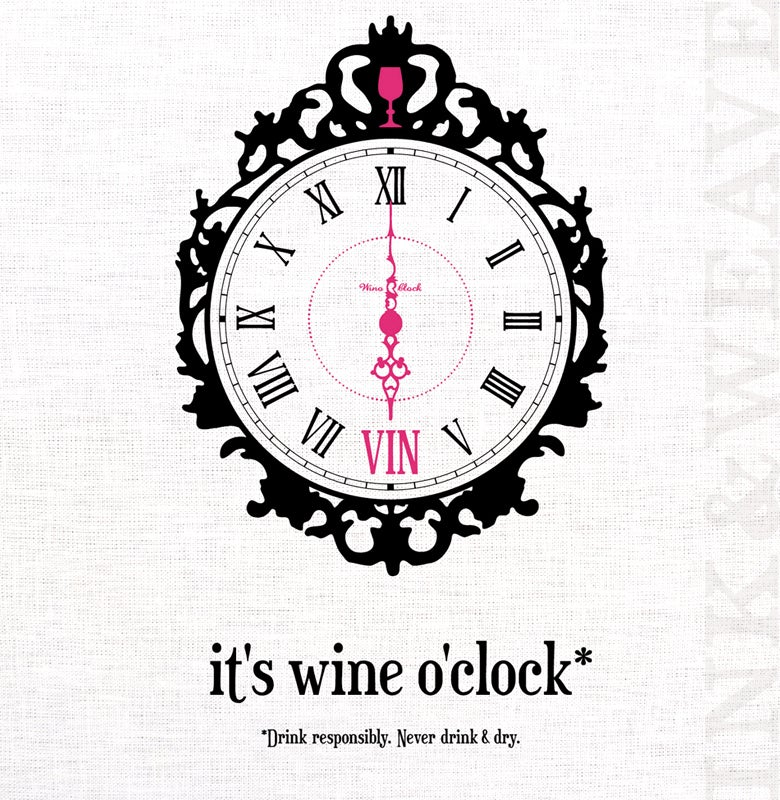 Image of it's wine o'clock