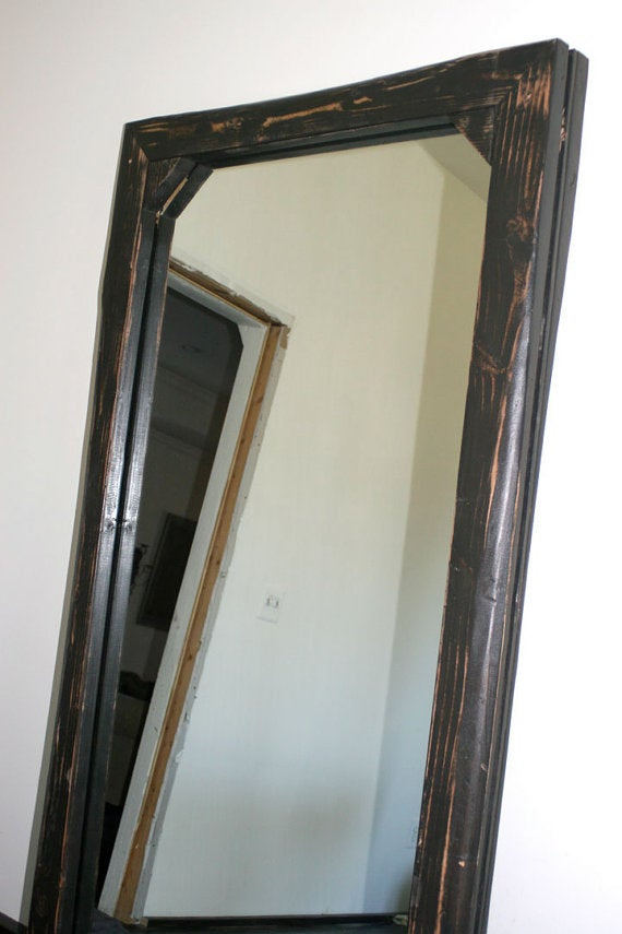 Image of 3' x 6' LEANING FLOOR MIRROR