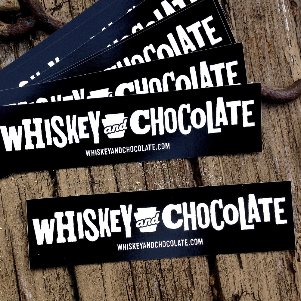 Image of Whiskey & Chocolate Stickers