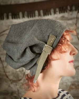 Image of  SH66 [DEPLOYMENT] Reconstructed Military Surplus Wool Slouch Hat with Strap