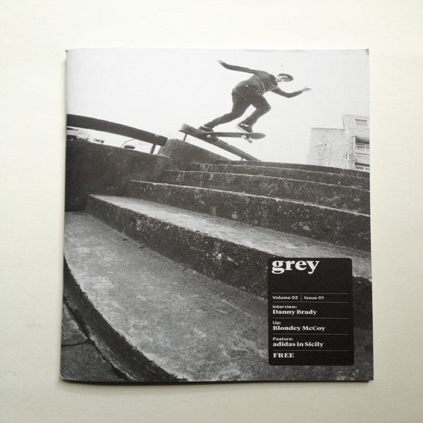 Image of grey skate mag volume 02 issue 01