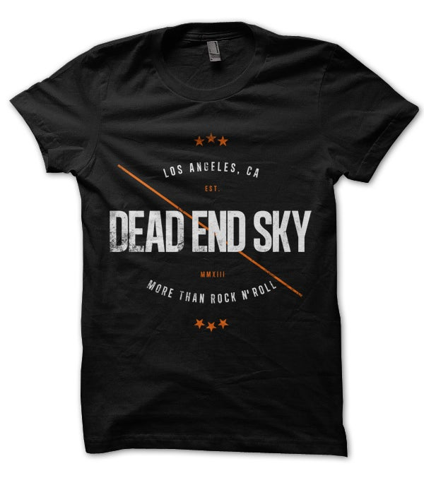 Image of Dead End Sky T-Shirt - More Than Rock N' Roll