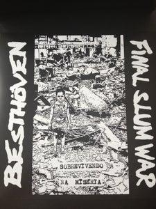 """Image of BESTHOVEN / FINAL SLUM WAR - SOBREVIVENDO NA MISERIA 12"""""""