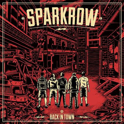 """Image of Sparkrow """"Back In Town"""" 12"""" vinyl EP"""