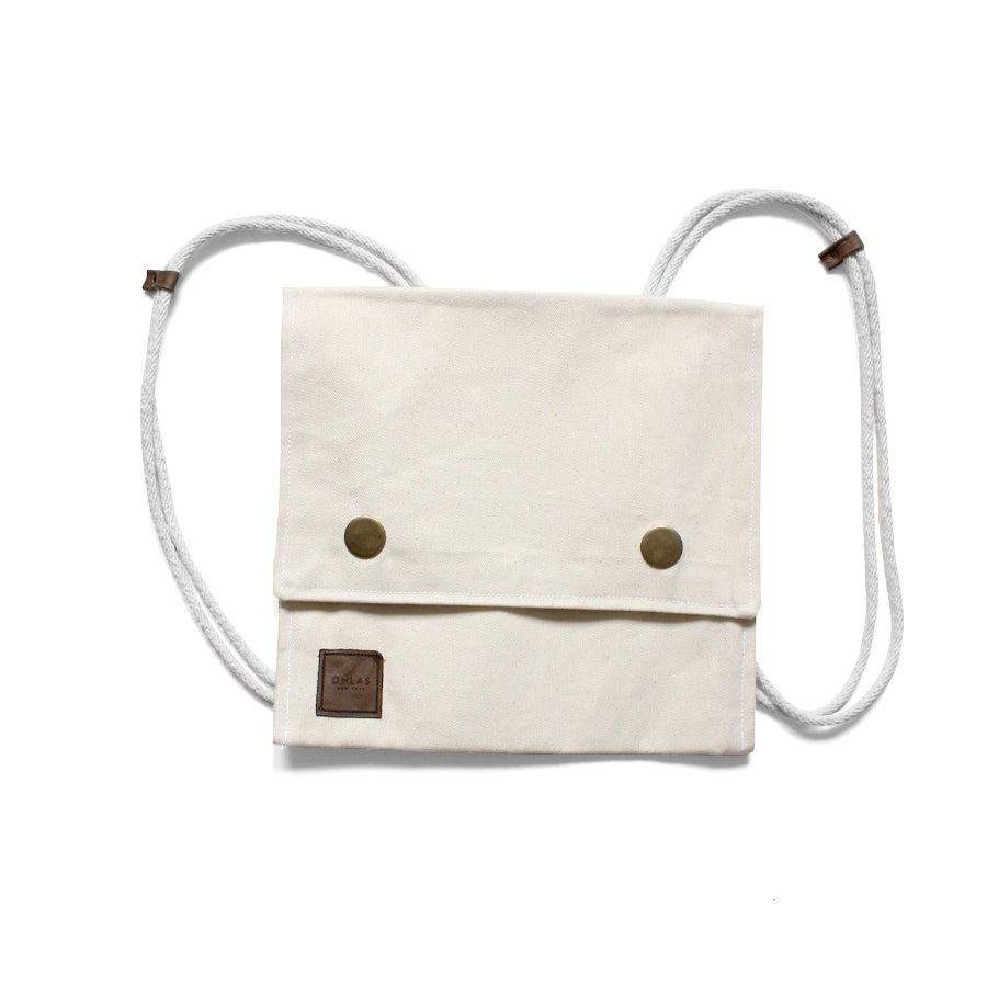 Image of Convertible Tote Backpack/Messenger - Natural
