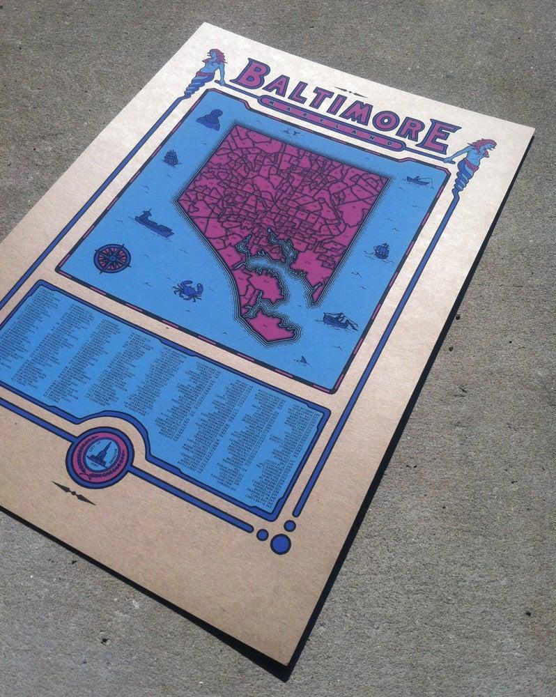 Image of Baltimore Map