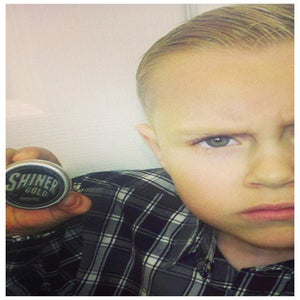 Image of Sold Out !!!!! Be Back Soon. SHINER GOLD POMADE MINI TINS