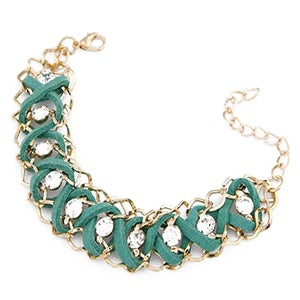 Image of Diamante Bracelet - Mint