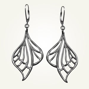 Image of Libellule Earrings, Sterling Silver