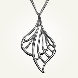 Image of Libellule Necklace, Sterling Silver