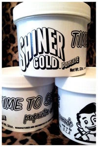 Image of SHINER GOLD POMADE LARGE TUB