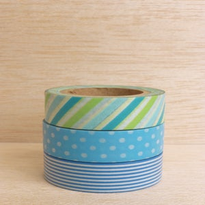Image of Washi Tape Blues (1 rolo à escolha)