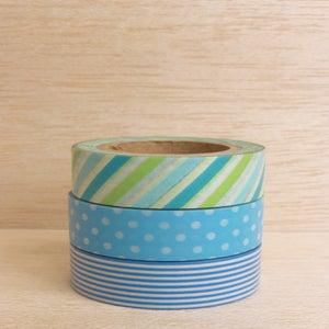 Image of Washi Tape Blues (1 rolo à escolha)
