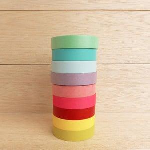 Image of Washi Tape Plain Colours (1 rolo à escolha)