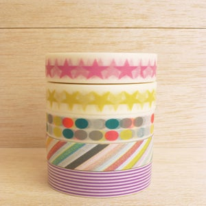 Image of Washi Tape Mix Colours (1 rolo à escolha)