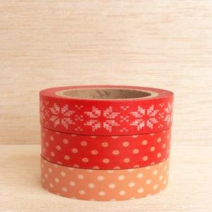 Image of Washi Tape Reds (1 rolo à escolha)