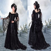 Image of Black Roses Gown by Azrael Black Label
