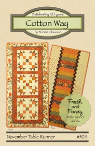 Image of November - Fresh and Fancy Paper Pattern #5011