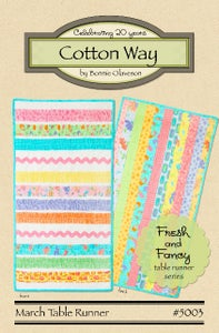 Image of March - Fresh and Fancy Paper Pattern #5003