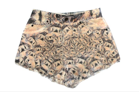 Image of D.Fame Gem Denim Shorts
