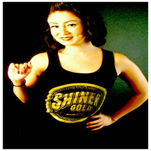 Image of SHINER GOLD WOMEN'S TANK