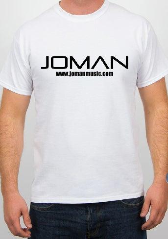 Image of White Joman Logo Tee