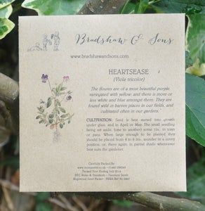 Image of Bradshaw & Sons Heartsease Seeds