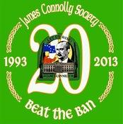 Image of Beat The Ban 20th Anniversary Metal Badge