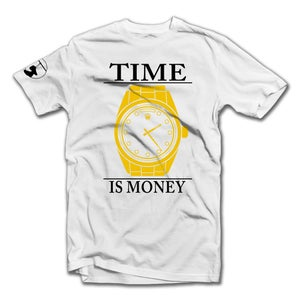 Image of Time Is Money Tee (White)