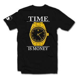 Image of Time Is Money Tee (Black)