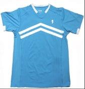 Image of Blue V-Neck shirts