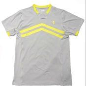 Image of Light Grey V-neck shirts