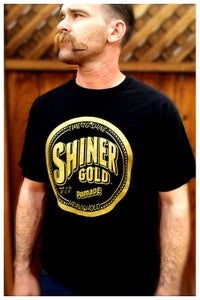Image of SHINER GOLD MEN'S TEE