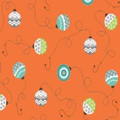 Image of Orange Bobbers form Here Fishy, Fishy 6099-33