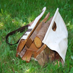 Image of Easy Tote Firewood Carrier
