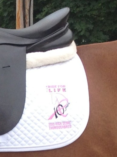 "Image of The Best ""Horsonalized"" Saddle Pad"