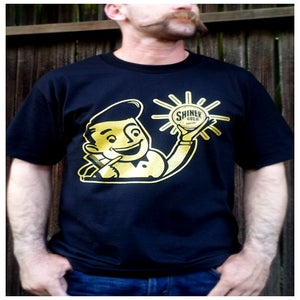 Image of SHINER GOLD MEN'S SHINER GUY TEE