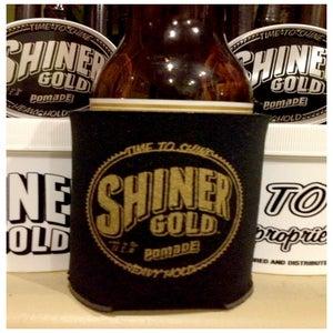 Image of 4 SHINER GOLD POMADE KOOZIE