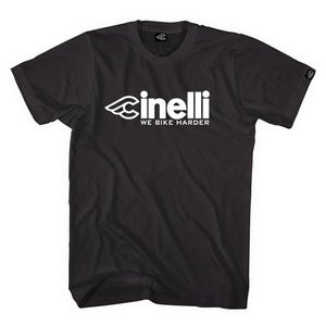 Image of Cinelli We bike harder! T-Shirt