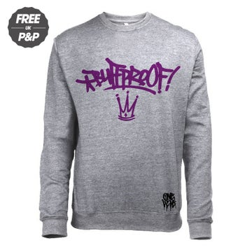 Image of BUFFPROOF - CREWNECK SWEATSHIRT - GREY