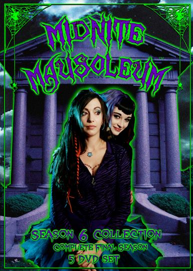 Image of Midnite Mausoleum Season 6 Complete