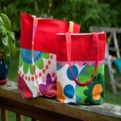 Image of Mommy & Me Color Block Totes