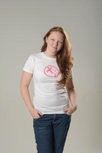 Image of Pink Ink Fund(c) *adult unisex tshirt* WHITE 2 sided