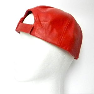 Image of Phantom Cap - Red Leather
