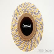 Image of Cape Cod Yellow and Gray Bakers Twine by Timeless Twine