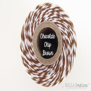 Image of Chocolate Chip Brown Bakers Twine by Timeless Twine™