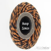 Image of Orange Licorice Twist Halloween Bakers Twine - Limited Edition